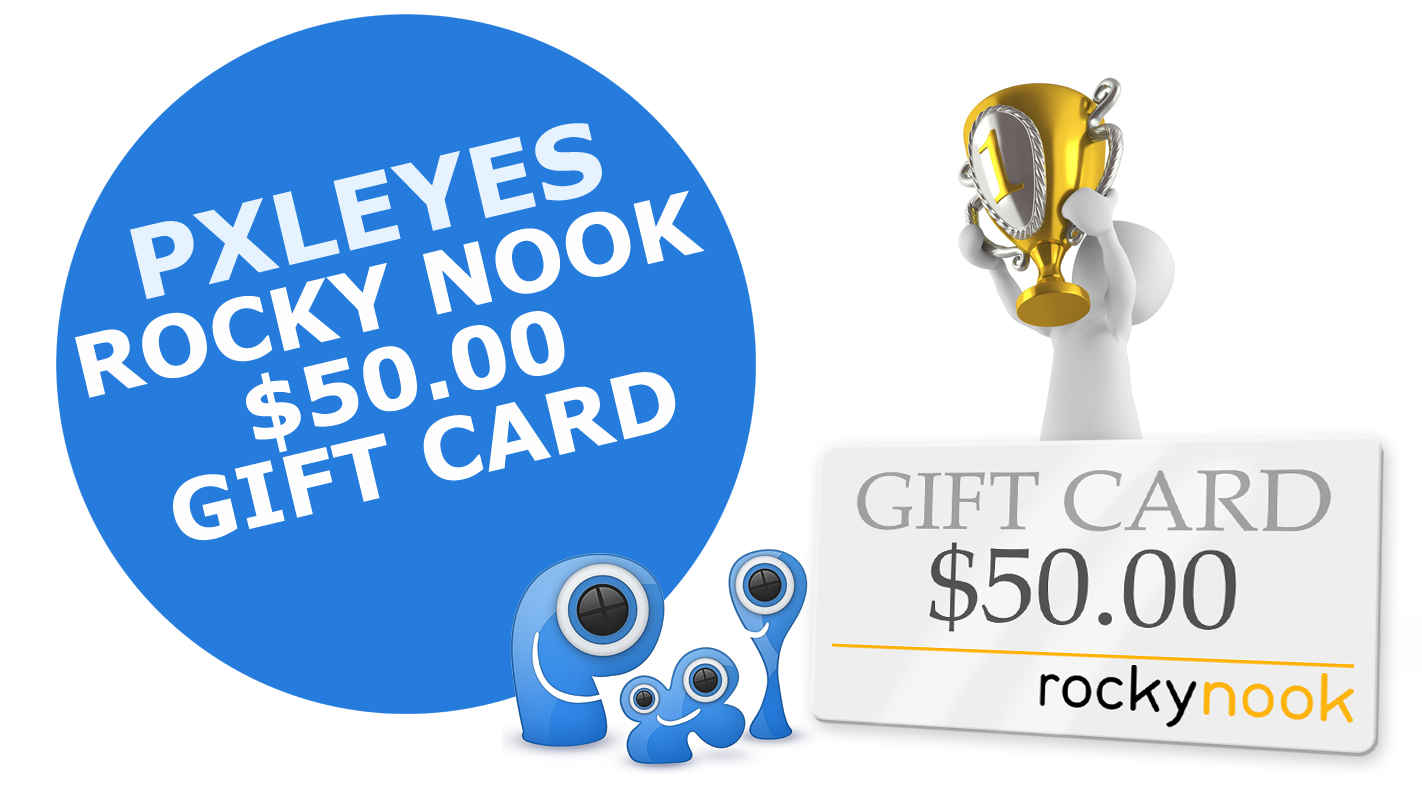 Rocky Nook $50 gift card