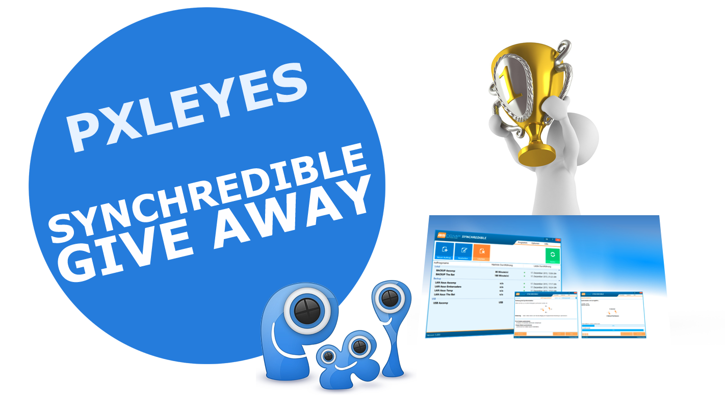 Give Away: 10x Synchredible + serial on Pxleyes