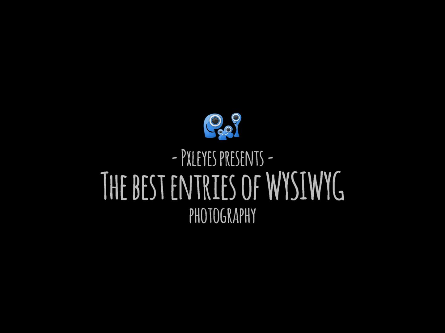 The best entries of WYSIWYG