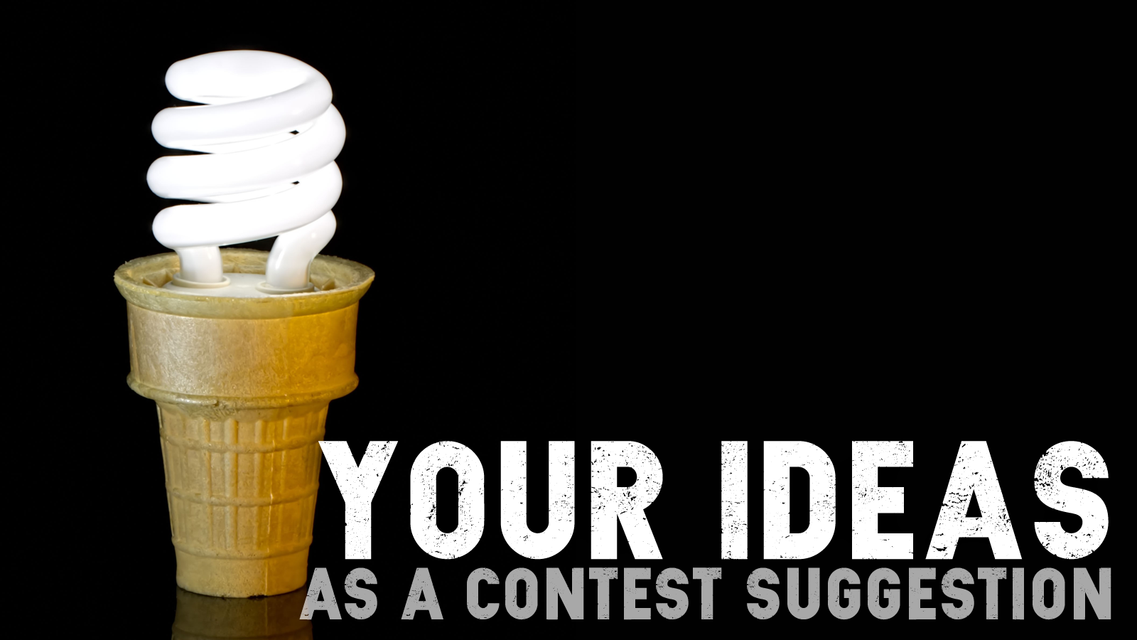 Suggest your contest ideas