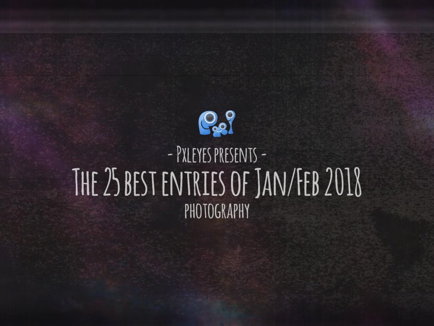 The best photography entries in January & February 2018