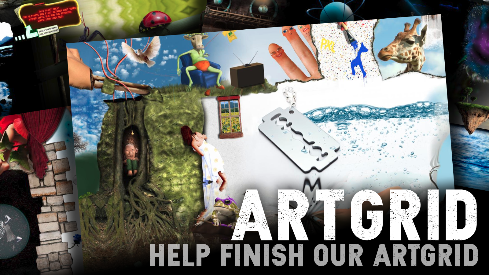 Help finish our ArtGrid