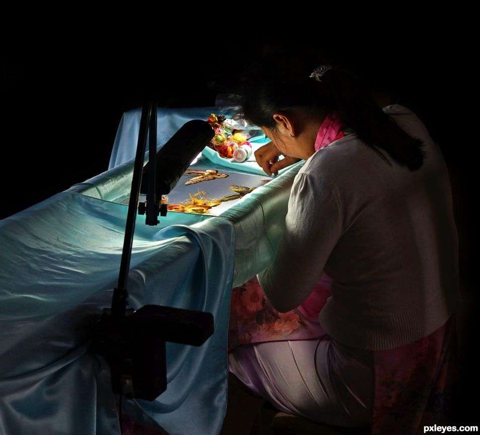 Seamstress by the LIght