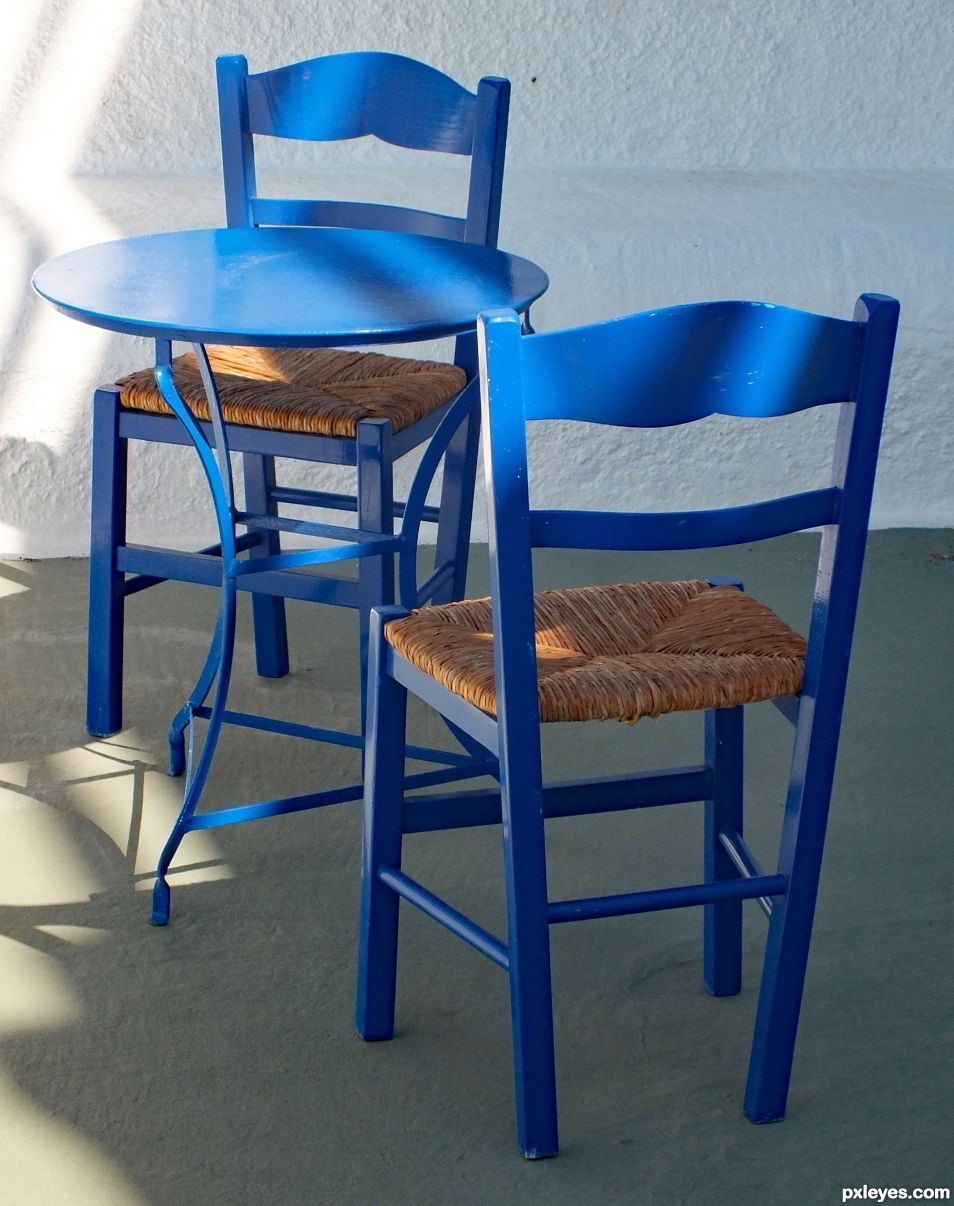 Empty Chairs and Empty Table