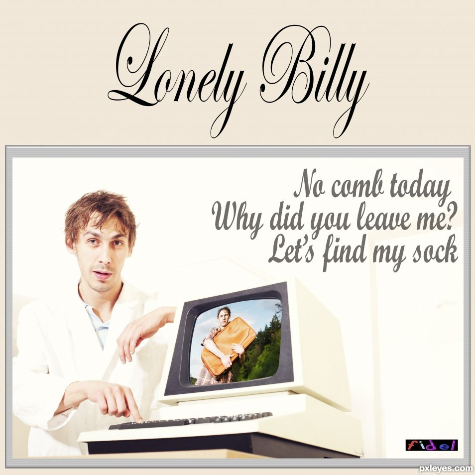 Lonely Billy new EP - Special lockdown