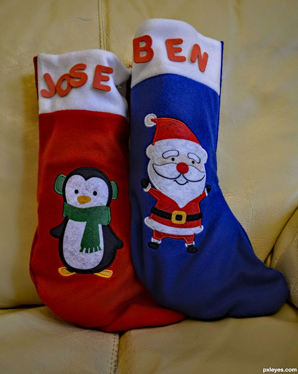 Stockings for Santa