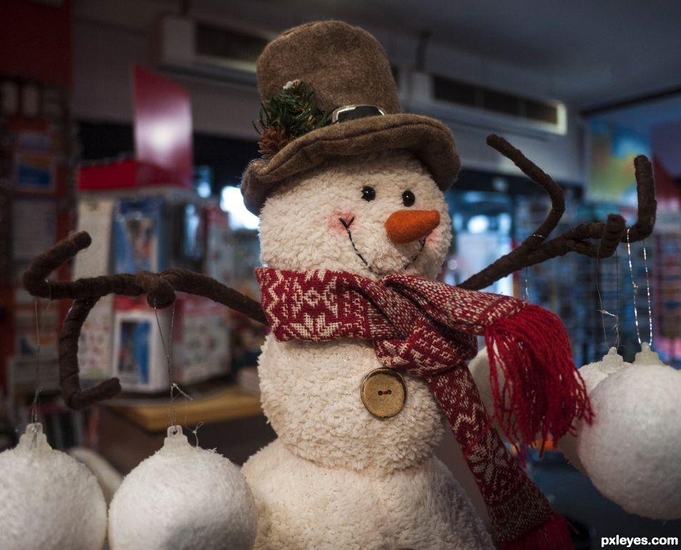 Hey, Mister Snowman!