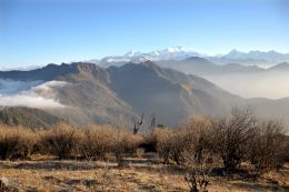 In the foot of Himalayas