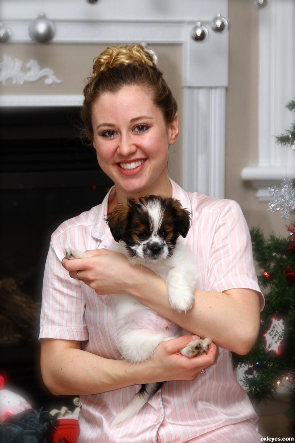 Puppies make Everyone Happy