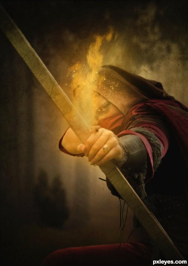 Deadly Flame Arrow