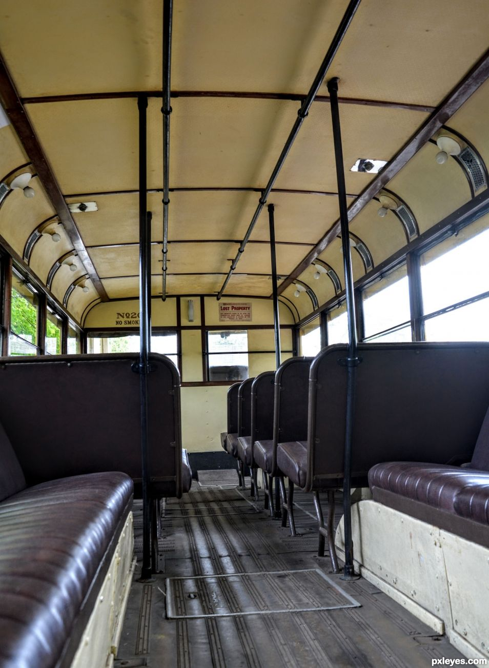 Trolleybus Interior
