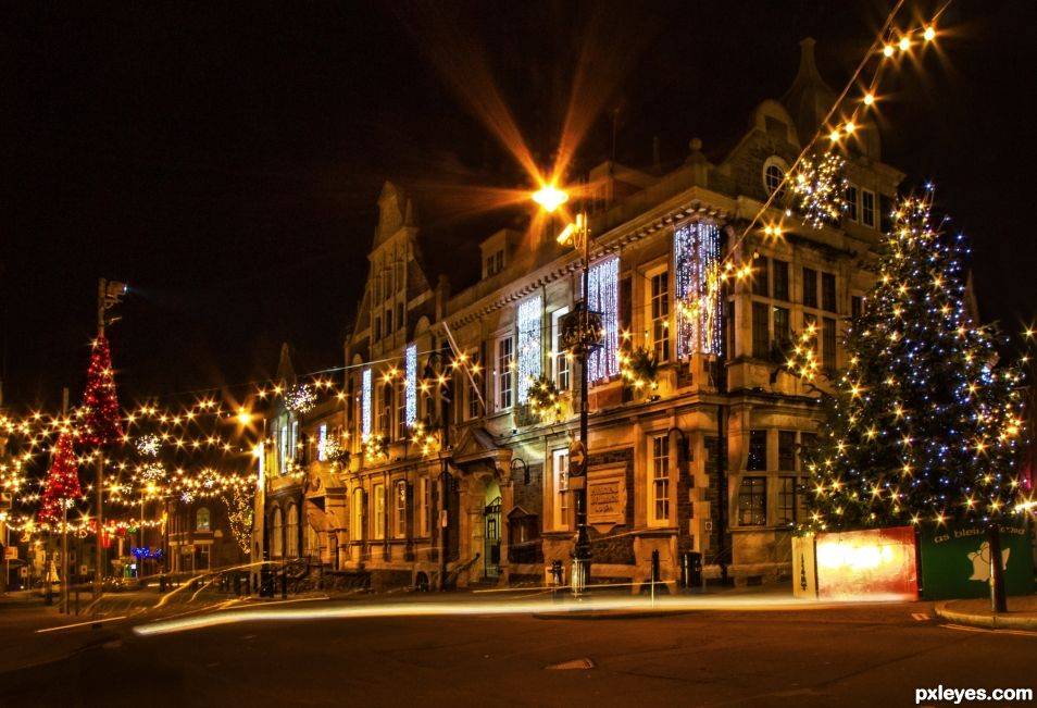 Christmas at the town hall