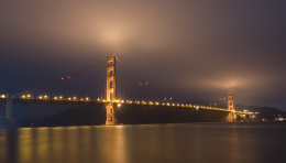 The Golden Gate by Night