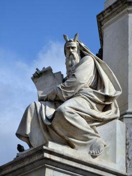 Moses by Ignazio Jacometti