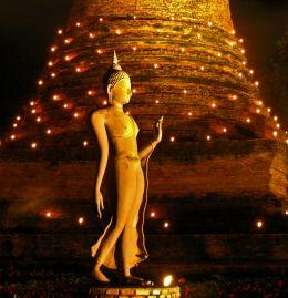 By the Stupa