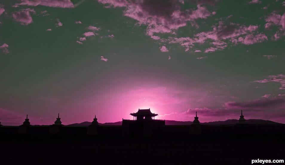 Mongolian Silhouette