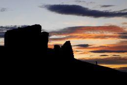 Sunset at Duffus