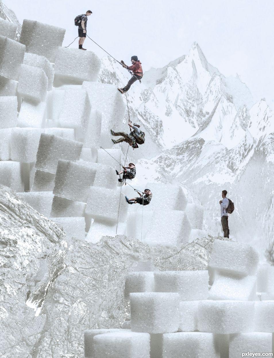 Sugar climbing