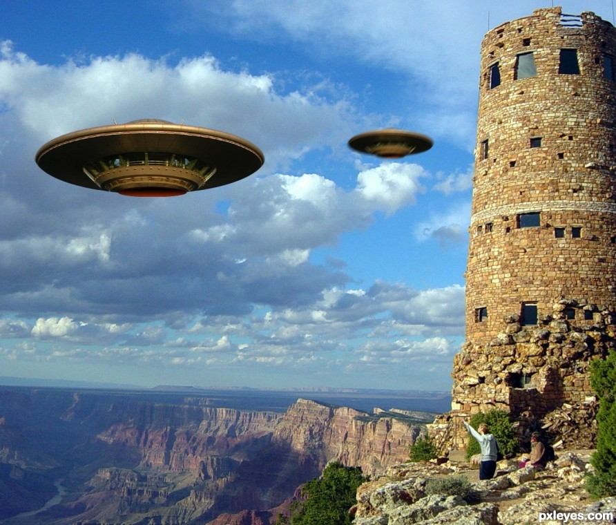 Grand Canyon, UFO Sighting