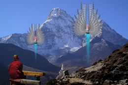 A Himalayas UFO Sighting