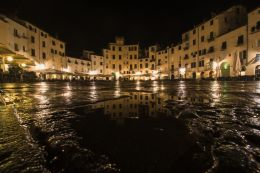 Lucca after rain