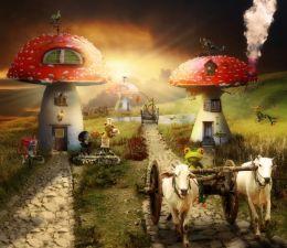 Mushroom Village Picture