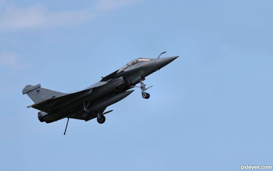 Rafale M aircraft