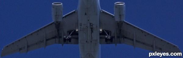 Overhead!