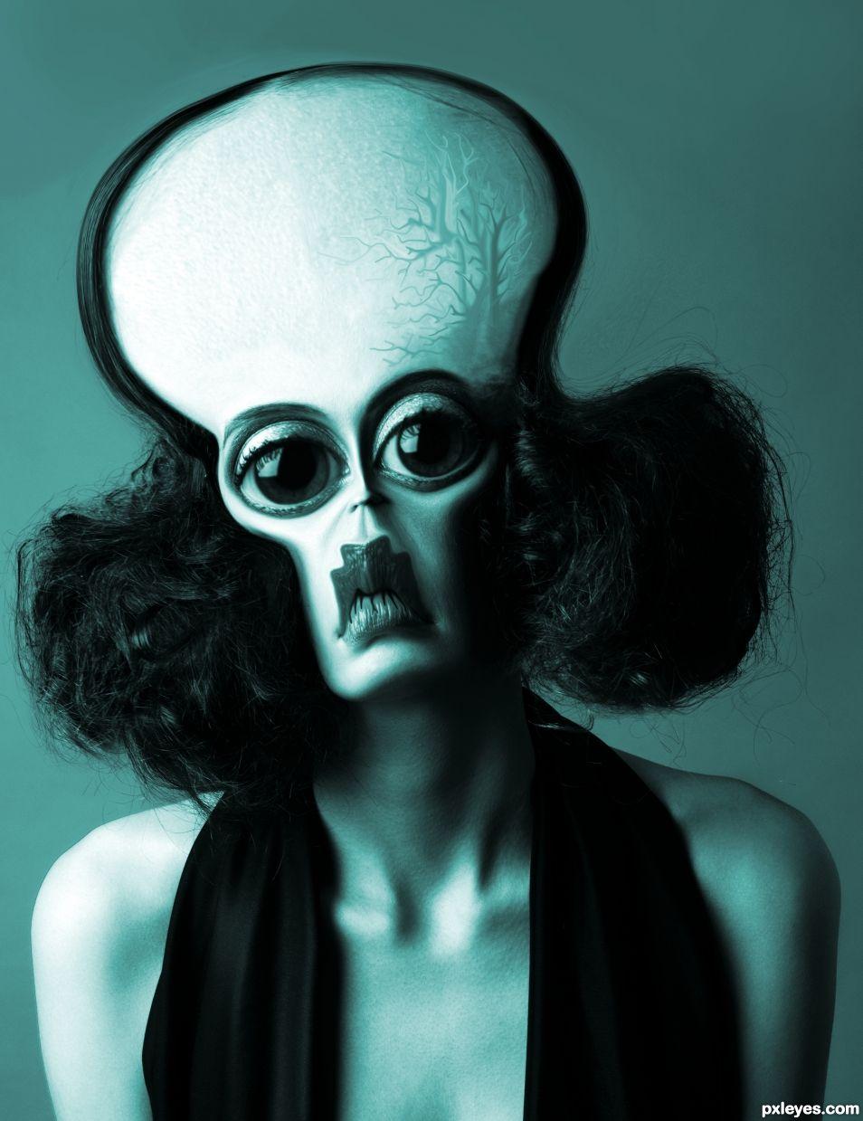 Fashion alien