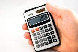 A $1010 calculator... Picture
