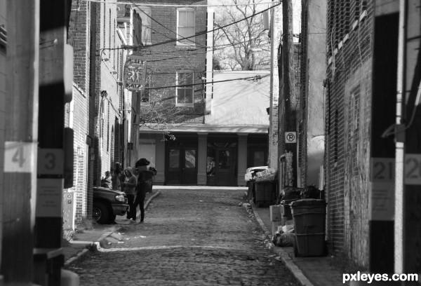 Alley Conversation