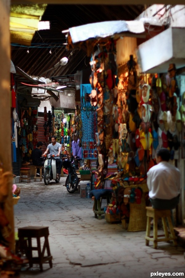 Alleyway in a souk