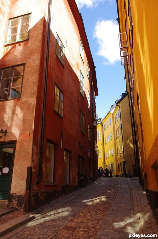 Colors in Stockholm