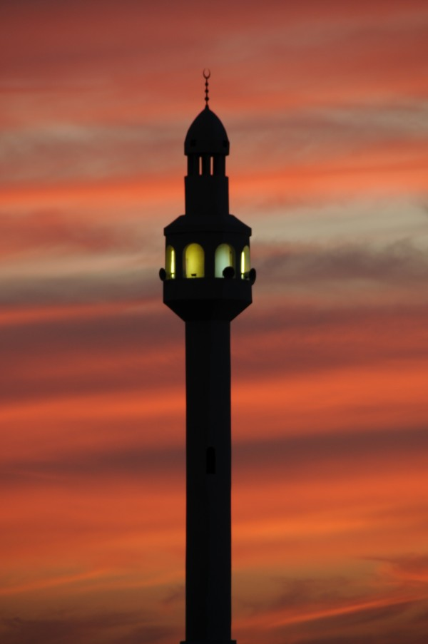 Sunset Mosque