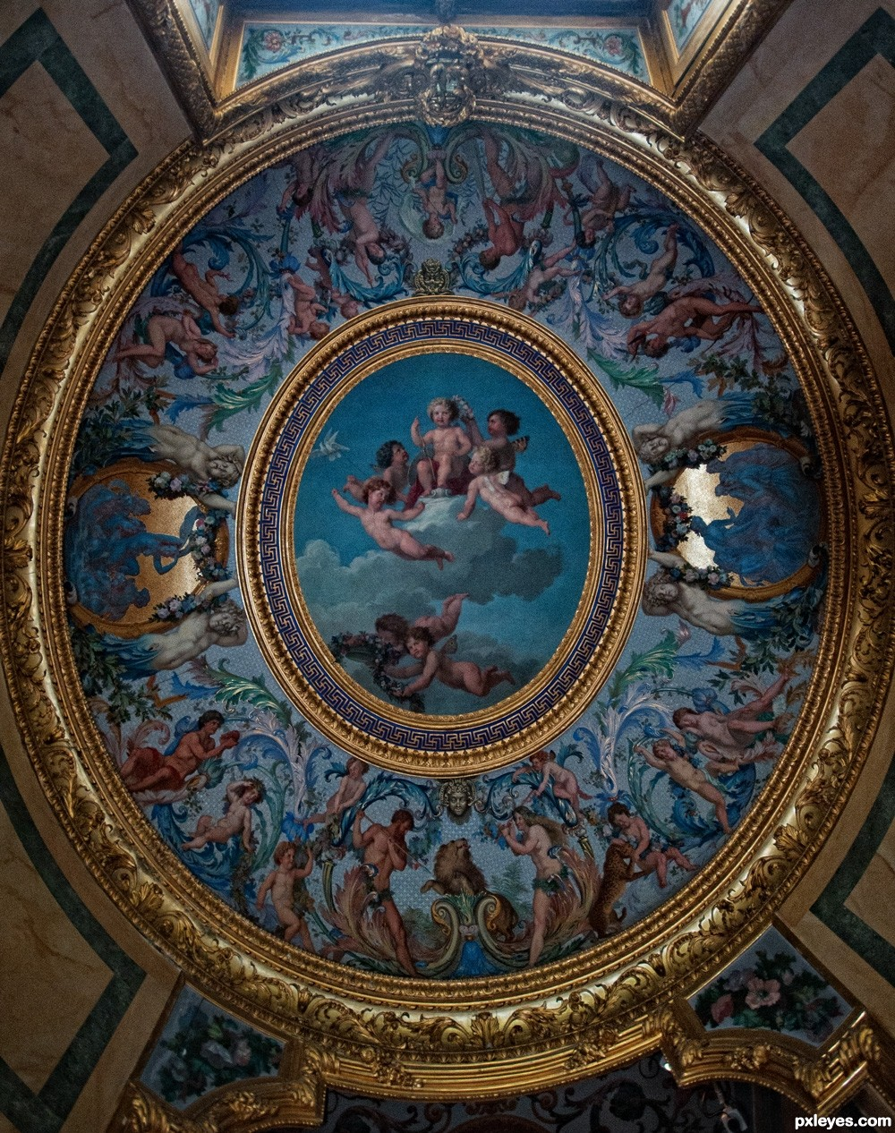 Angels Picture By Wysiwyg For Amazing Ceilings 2