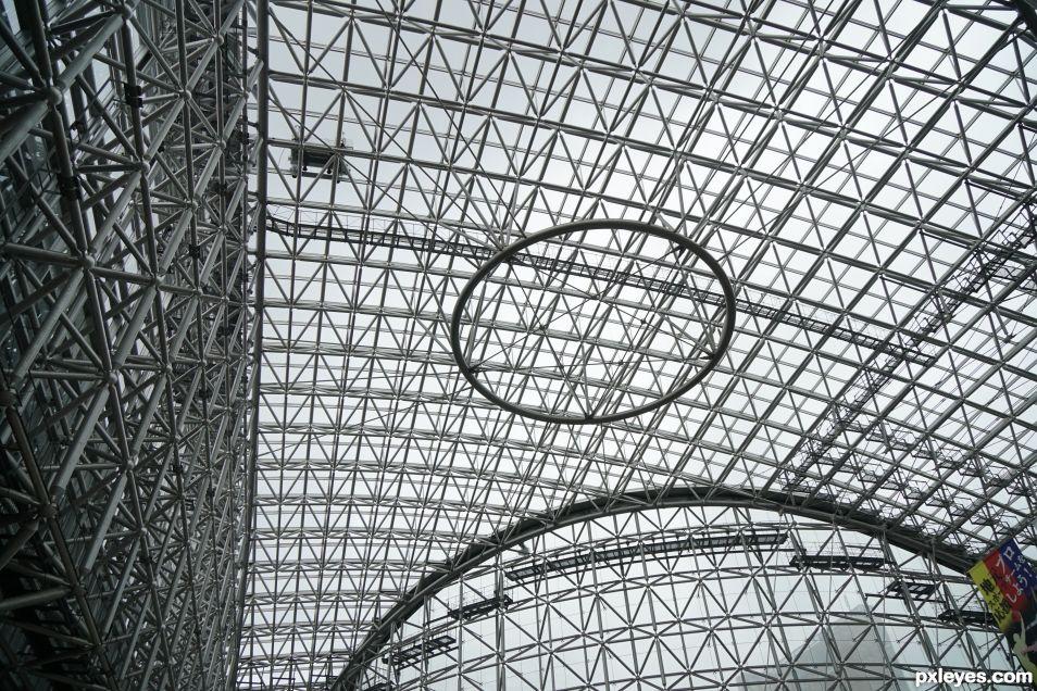 Kanazawa Bus Terminal Ceiling