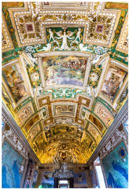 VaticanMuseumceiling