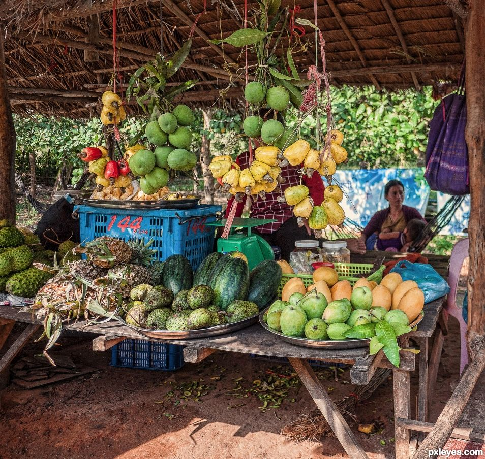 Roadside fruits