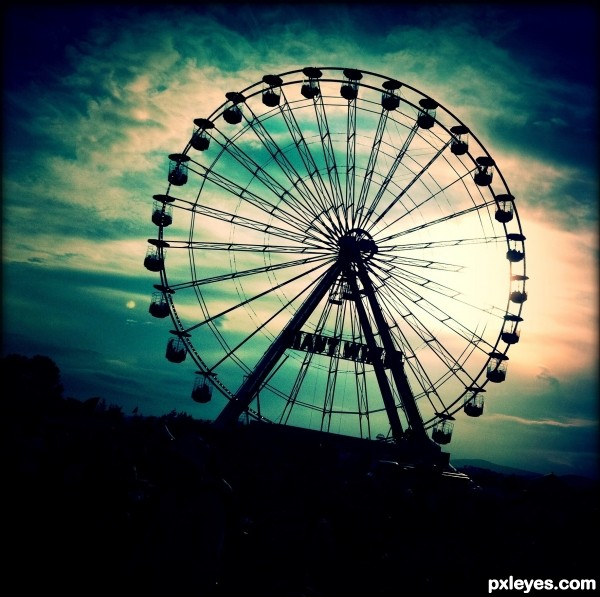 Big Wheel at T in the park