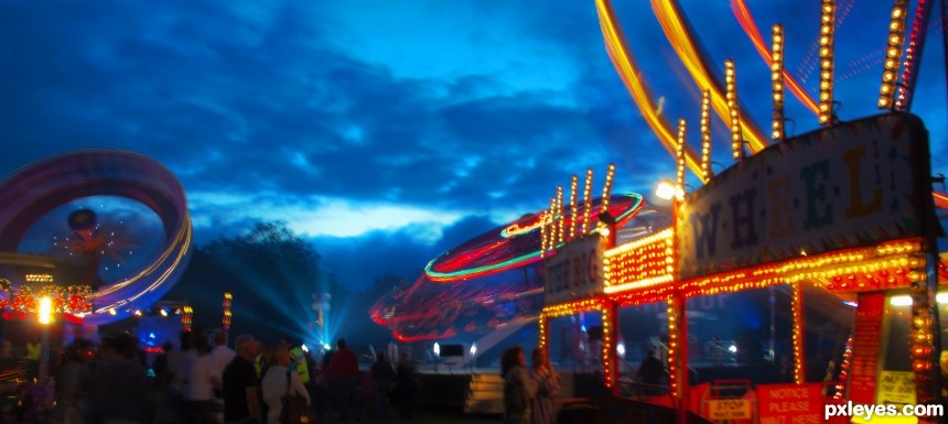 Fun Of The Fairground photoshop picture)