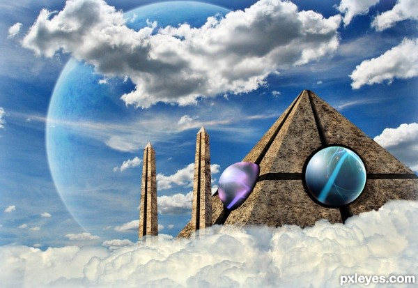 Temple in the Sky