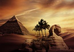 Egyptian Scene Picture