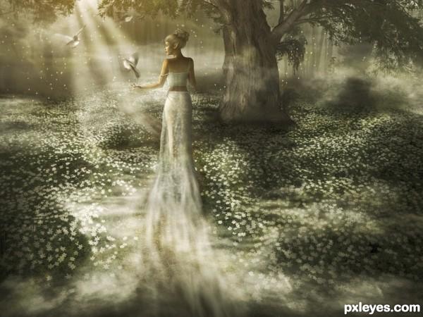 Misty Princess photoshop picture