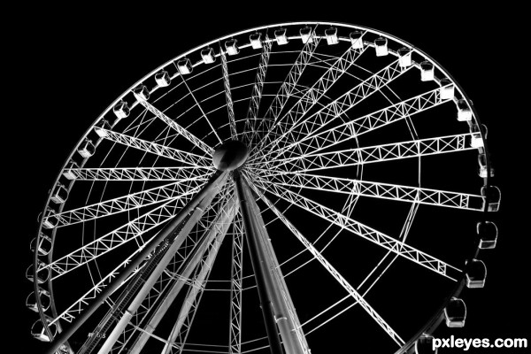 How many angles make a wheel? photoshop picture)