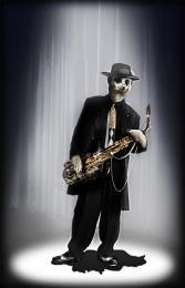 Kool Kat Jazz Sax