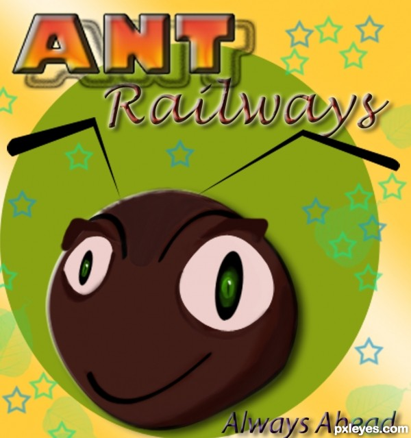 Creation of Ant Railways Welcome you !: Final Result
