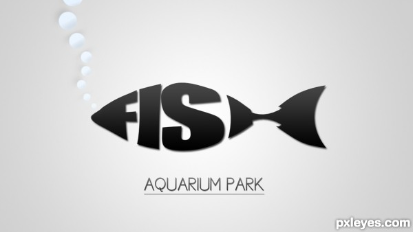 Fish Aquarium Park photoshop picture)
