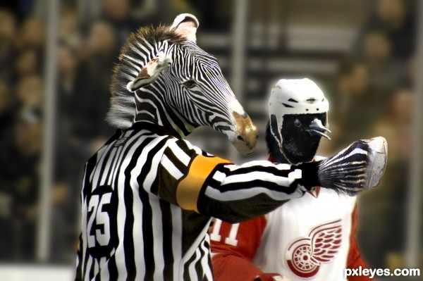 2 min.. Chirping at the Ref