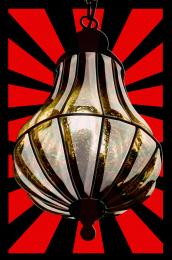 red stripe lamp Picture