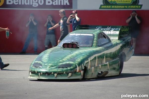 Croc DragCar